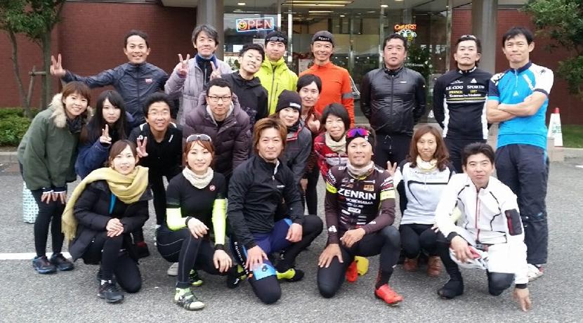 <BECKON RIDE>12月はTEAM UKYO所属土井雪広選手と淡路島ライド