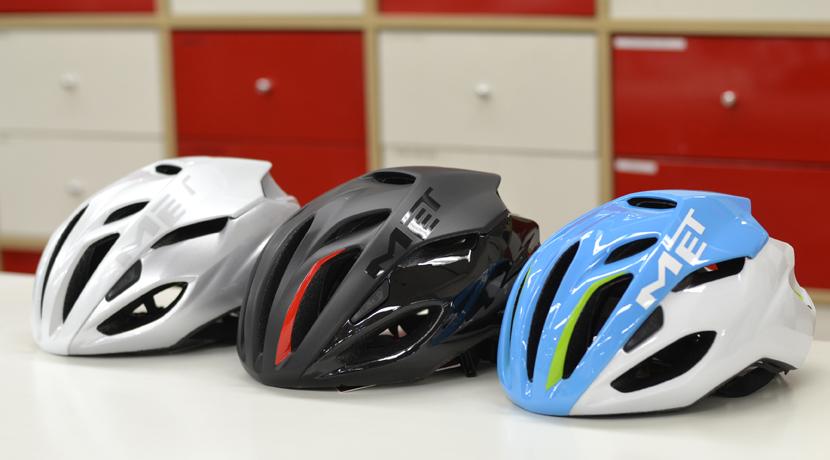 スマートなヘルメットMETからNEWモデル到着