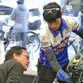 自転車、きれいにする方法教えてもらったよ\(^o^)/
